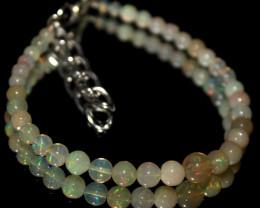 22 Crt Natural Ethiopian Welo Fire Opal Balls Bracelet 38