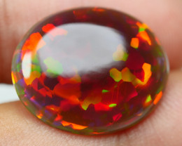 8.15 CRT PERFECT PUZZLE PATTERN RED FIRE DARK BASE WELO OPAL-