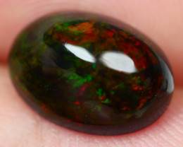 2.45 CRT BRILLIANT SMOKED BROAD FLASH FLORAL WELO OPAL-
