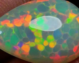 SUPER HONEYCOMB OPAL CELL 5/5 STUNING PATTERN SPECTACULAR WELLO OPAL