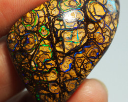 61.05CT GEM YOWAH OPAL WITH AMAZING PATTERN NN452