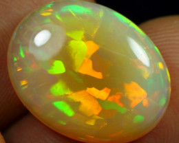 FREE SHIPPING 10.15cts 5/5 3D Flagstone Pattern Natural Ethiopian Welo Opal