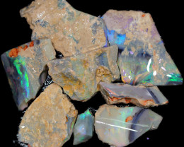260.45 CTS  BLACK OPAL ROUGH PARCEL FROM LIGHTING RIDGE[BR6637]