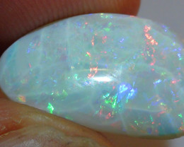 4.45 ct $1 NR Multi Color Solid Coober Pedy Crystal Opal