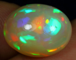 Christmas Sale 10.20cts 5/5 Neon Fire Aurora Natural Eth Welo Opal
