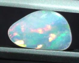 0.50 ct Beautiful Multi Color Lightning Ridge Crystal Opal