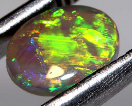 N6-  0.84 CTS - DARK  OPAL POLISHED STONE TBO-9654