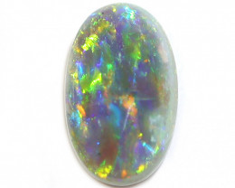 1.8CT Semi Black Crystal Opal Stone [CS36]
