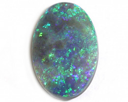 2.2CT Semi Black Crystal Opal Stone [CS38]