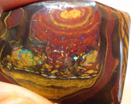 41.30 ct Gem Multi Color Koroit Matrix Queensland Boulder Rough Rub