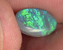GEM BLACK OPAL;  1.6 CTs of Lightning Ridge Gem Black Opal, #1010