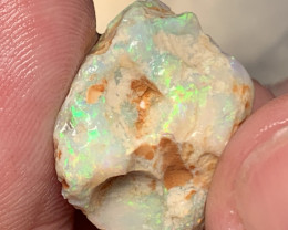 CARVING; 27 CTs of Beautiful Solid/Natural Lightning Ridge Opal, #1021
