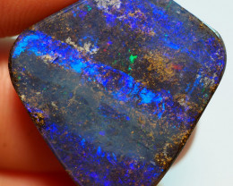 23.15CT DRILLED YOWAH OPAL WITH AMAZING PATTERN NN531