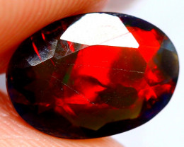 0.98cts AAAA Natural Ethiopian Faceted Smoked Opal FA189