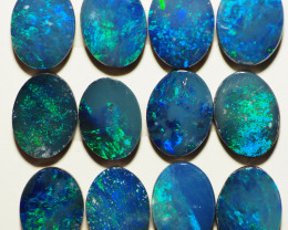 9.92 CTS PARCEL OF LIGHTNING RIDGE OPALS CALIBRATED NN553