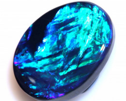 N 1- 9.730 CTS QUALITY  BLACK OPAL POLISHED STONE INV-1382