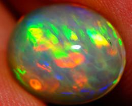 2.40 CT 11X9 MM Patchwork Rolling!! Welo  Ethiopian Opal-DB540