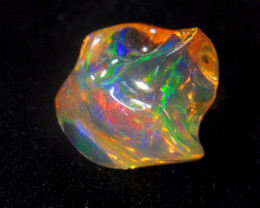 5.67ct Bright Carved Mexican Opal