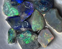 HIGH GRADE ROUGH; 26.5 CTs Lightning Ridge Rough Opals,#1058