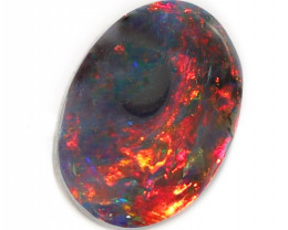 0.50 CTS  BLACK OPAL STONE LIGHTNING RIDGE [CS64]