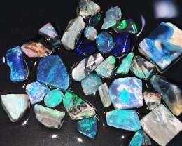 Rough Opal Lot 98.50 cts Black Opals Lightning Ridge BOR3020919
