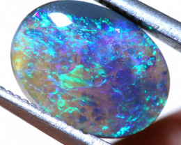 N5-   2.05CTS - DARK  OPAL POLISHED STONE L. RIDGE TBO-9687