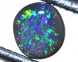 N3 -0.22   -CTS  L.RIDGE BLACK OPAL  POLISHED STONE TBO-9691