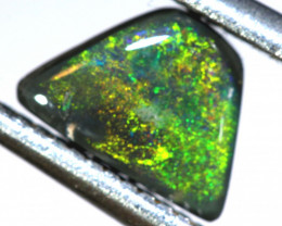 N4-0.62    -CTS  L.RIDGE BLACK OPAL  POLISHED STONE TBO-9704