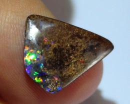 3.40 ct Beautiful Gem Multi Color Koroit Boulder Opal