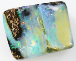 18.60 CTS BOULDER OPAL STONE FROM WINTON  [BMA8227]