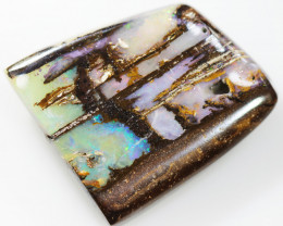 14.35 CTS DOUBLE SIDED BOULDER OPAL STONE FROM WINTON  [BMA8229]