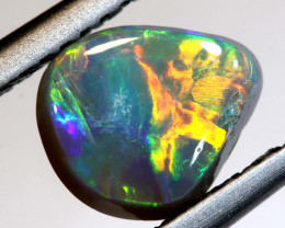 N5- 1.08  CTS - DARK  OPAL POLISHED STONE L. RIDGE TBO-9736