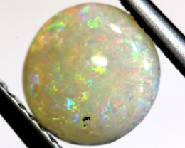 0.84 CTS  WHITE OPAL POLISHED  CUT STONE  TBO-9747