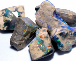 80-CTS  BLACK OPAL  ROUGH PARCEL  L. RIDGE DT-8615