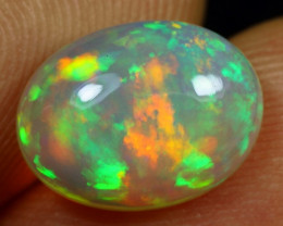 2.10cts 5/5 Galaxy Fire Pattern Natural Ethiopian Welo Opal