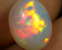 Wholesale Price 2.40cts Cell Pattern Natural Ethiopian Welo Opal