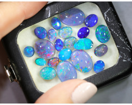 26 cts Parcel triplet, doublet opal mixed sizes OPJ  2358