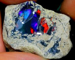 22cts Ethiopian Welo Rough Opal JU117
