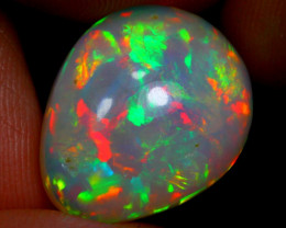 7.74cts  Ethiopian Welo Fully Polished Solid Opal / JU128