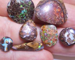 37ct. 7 Piece Small Boulder Matrix Rubs (1200 grit)