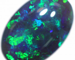 8.05 CTS BLACK OPAL STONE -LIGHTNING RIDGE- [LRO689]