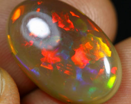 8.15cts Neon Patchwork Pattern Natural Ethiopian Welo Opal