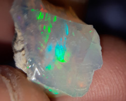 6.5 Carats welo opal rough water clear