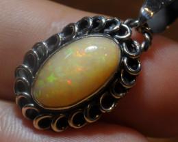 20.89ct Blazing Welo Solid Opal
