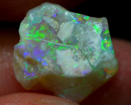 3.85cts Australian Lightning Ridge Opal Rough / 15S36