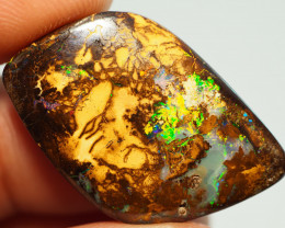 26.55CT GEM MATRIX YOWAH OPAL WITH AMAZING PATTERN NN649