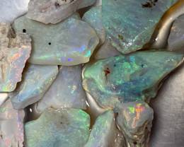 ROUGH FOR CUTTERS; 47 CTs Lightning Ridge Rough Opals,#1116