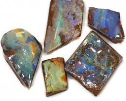 236.55CTS  Boulder Opal Rough/Rub Pre-Shaped PARCEL --  S1170