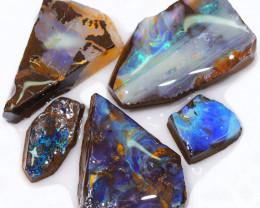 236.25CTS  Boulder Opal Rough/Rub Pre-Shaped PARCEL --  S1178