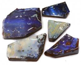 242.15CTS  Boulder Opal Rough/Rub Pre-Shaped PARCEL --  S1188
